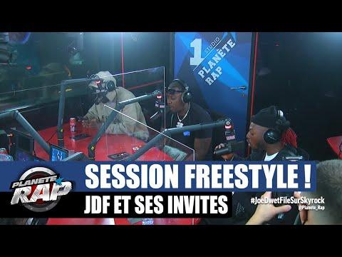 Youtube: Joé Dwèt Filé – Session freestyle avec Bolémvn, Franglish & Curtis Kane! #PlanèteRap