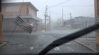 Yabucoa Puerto Rico Hurricane Maria CAT 5 At Landfall - 9/20/2017
