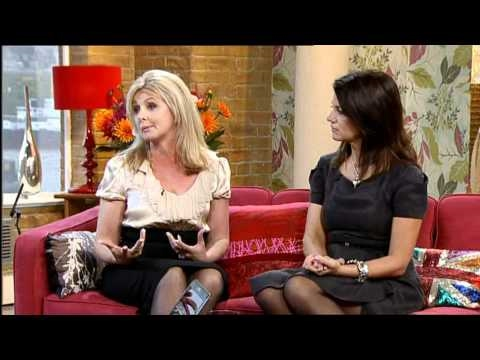 Louise Minchin Stocking Tops Dawn Porter 070910