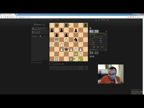 Classical chess game #1 on lichess (2058 vs. 2108, TC 2 12)