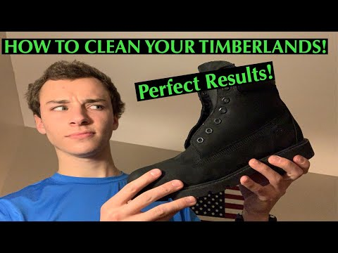 HOW TO CLEAN YOUR TIMBERLANDS! MADE SIMPLE