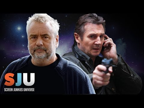"Liam Neeson ALMOST Not In ""Taken"" (Luc Besson Valerian Interview) - SJU"