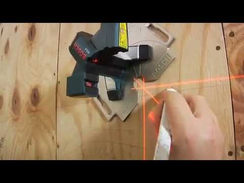 Bosch Gtl3 Tile Layout Laser