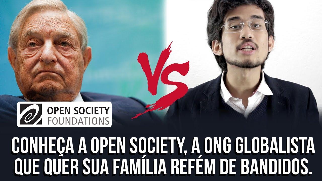 Conheça a Open Society, a ONG que quer sua família refém de bandidos.