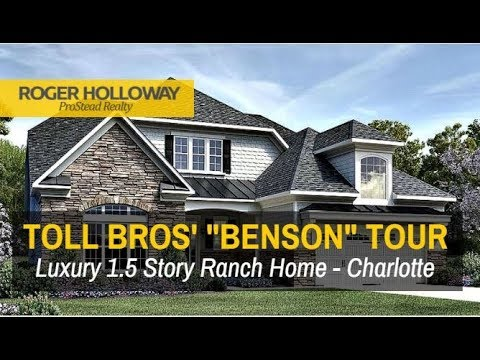Luxury Ranch Homes In Charlotte NC   Toll Brothersu0027 BENSON
