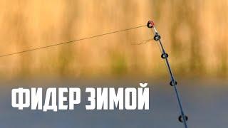 ЗА ЛЕЩОМ Ловля на фидер поздней осенью Рыбалка на донки поклевки крупным планом