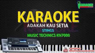 Karaoke Stings - Adakah Kau Setia (Music KN7000) HD Quality Lagu Malaysia Tanpa Vocal