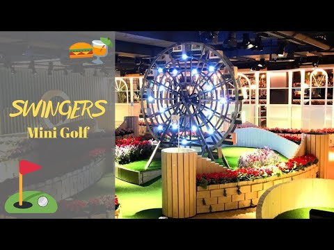 GREAT BAR & MINI GOLF IN LONDON // THINGS TO DO IN LONDON // SWINGERS, WEST END