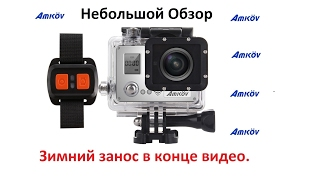Экшн камера Amkov AMK 7000 S 4K WiFi Action Camera