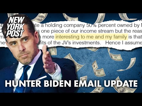 Emails reveal Hunter Biden tried to cash in on behalf of family with Chinese firm   New York Post