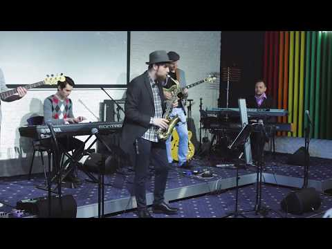 Marcus Miller - Run For Cover (Covered by Future Guys) Кавер бенд. Киев. Украина