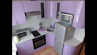 Кухня 4 квадратных метра, дизайн, расширяющий пространство
