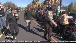 VIDEO: Maricopa County Sheriff Paul Penzone walks this year's Fiesta Bowl Parade