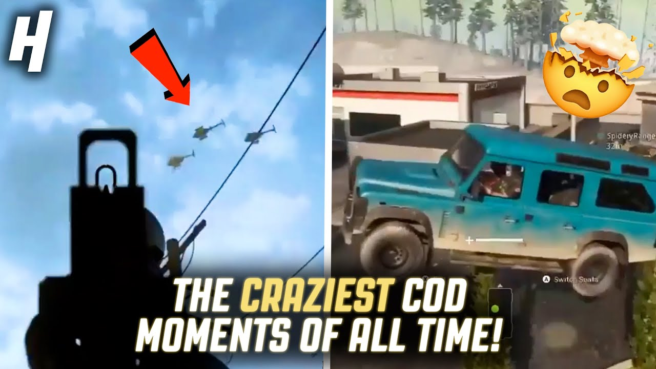 THE CRAZIEST CALL OF DUTY MOMENTS OF ALL TIME!