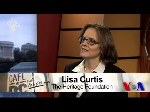 Cafe DC: Heritage Foundation Senior Research Fellow Lisa Curtis