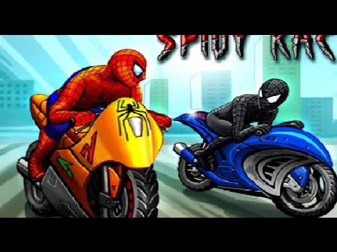 Скачать Игру Человек Паук На Мотоцикле - фото 3