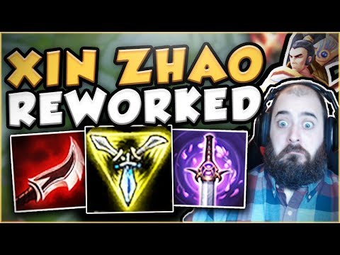 WTF RIOT?! THIS NEW XIN ZHAO IS ACTUALLY NUTS IN TOP! NEW XIN ZHAO TOP GAMEPLAY! - League Of Legends