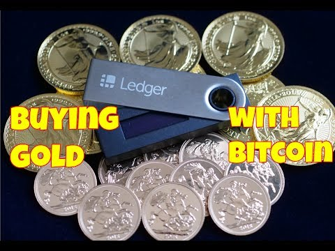 Buying Gold With Bitcoin!