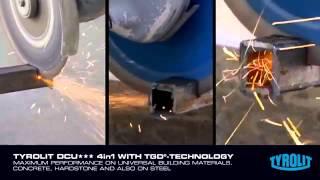 видео Алмазные сегменты для стенорезных дисков