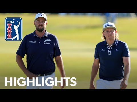 Cameron Smith & Marc Leishman's winning highlights from Zurich Classic | 2021