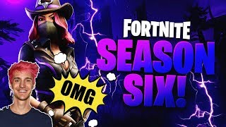 Ninja Reacts to Fortnite Season 6 (New Skins, Pets, Battle Pass Items, Trailer Reaction)