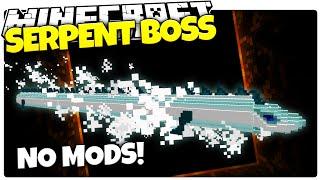 Minecraft | SERPENT BOSS FIGHT! | No Mods | Simplicity Finale (Minecraft Custom Adventure)