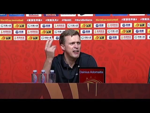 "Dainius Adomaitis apie FIBA: ""This is fucking joke.... This is fucking joke"""