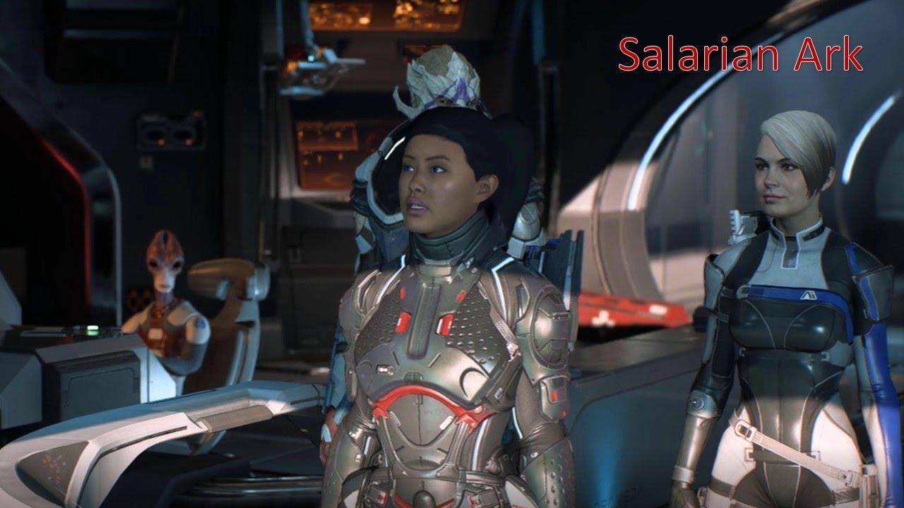 Mass Effect Andromeda Salarian Ark Cut Scenes