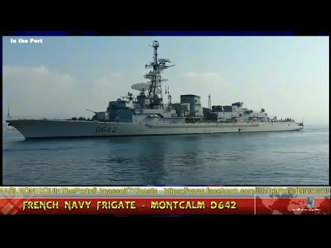 French Navy - Frigate MONTCALM D642