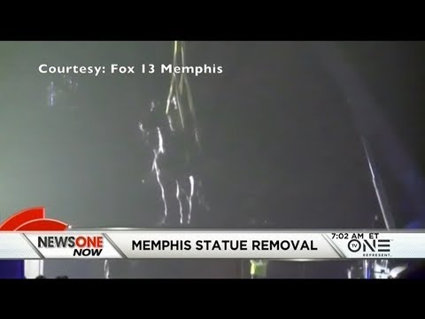 Two Confederate Statues Removed In Memphis After Unanimous Vote By The City Council
