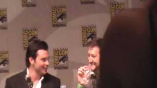 Smallville Comic Con w/ Tom Welling 2009 Part 1