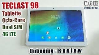 Teclast 98: Test Tablette Octa Core 4G avec 2 SIM à 95€