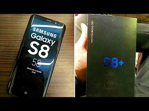 Galaxy S8+ Retail Box Leaked | Screen resolution and Batteries of the S8 and S8+ Leaked as well
