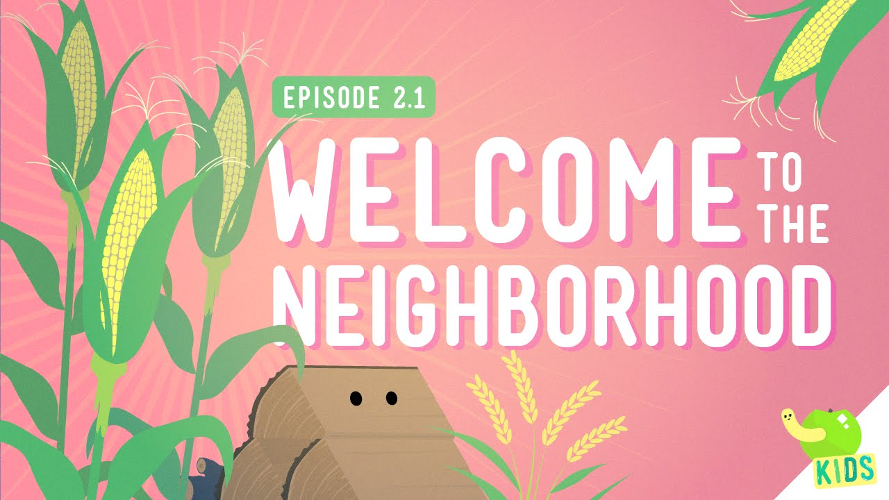 small resolution of Resources: Welcome to the Neighborhood - Crash Course Kids #2.1 - YouTube