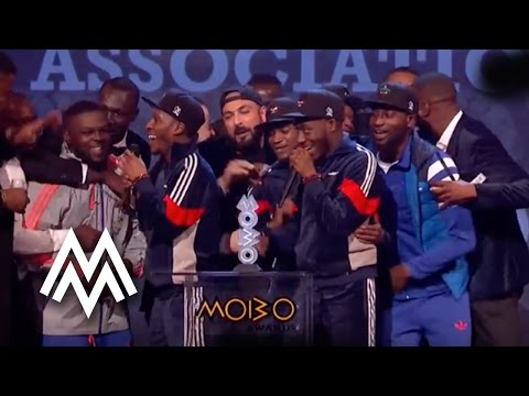 Section Boyz  Best Newcomer Act acceptance speech at MOBO Awards    MOBO