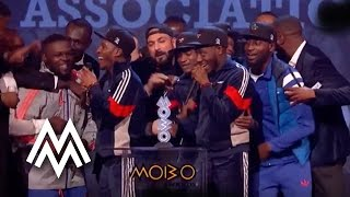 Section Boyz | Best Newcomer Act acceptance speech at MOBO Awards | 2015 | MOBO