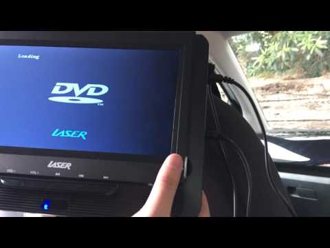 Laser Portable DVD Player 9