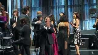 Jon Bernthal - Surprise at The Walking Dead S6 Fan-Premiere Madison Square Garden, NY