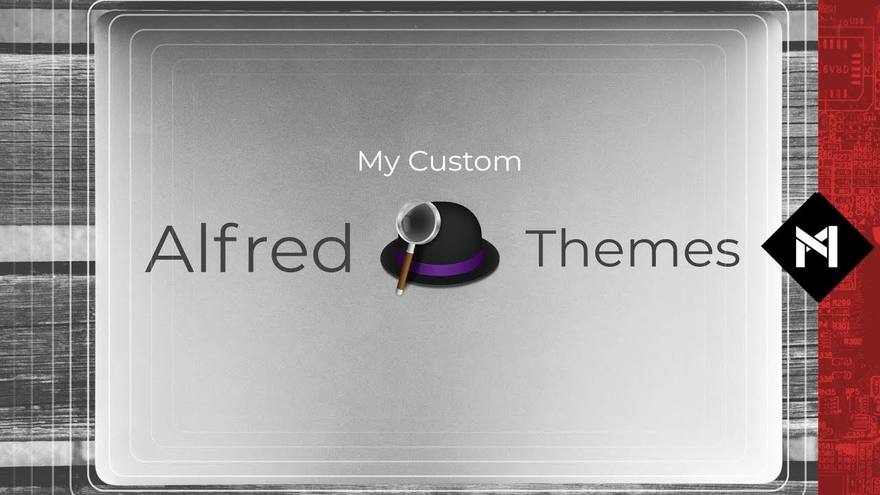 Adding Custom Themes to Alfred