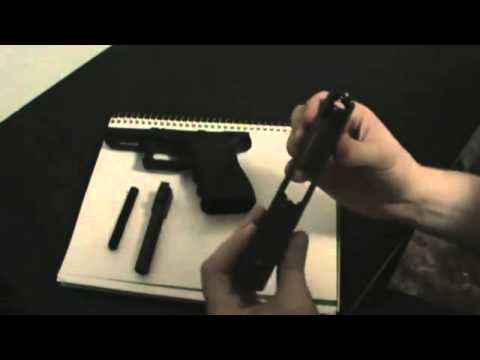 Glock 19 disassembly and assembly + Cleaning Tips