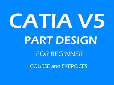 CATIA free basic online training  5How to use boolean operations