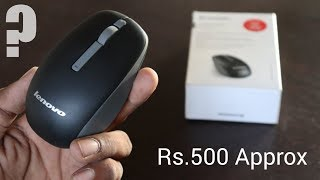 Lenovo N100 Cheap Wireless Mouse Unboxing amp Review