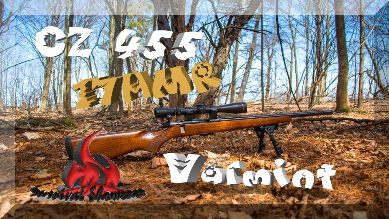 Cz 455 varmint review youtube - Cz 455 Varmint 17 Hmr