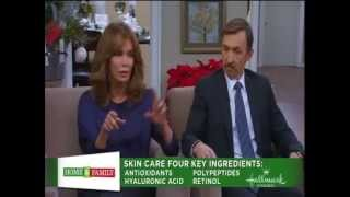 Jaclyn Smith with Husband Dr. Brad Allen, Home and Family Skin Care Interview