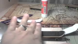 Как сделать фингерборд из бумаги ÷конкурс вконце ÷