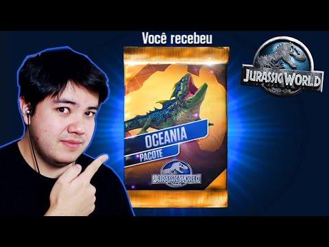 JURASSIC WORLD - MEU PRIMEIRO ANFÍBIO LENDÁRIO!