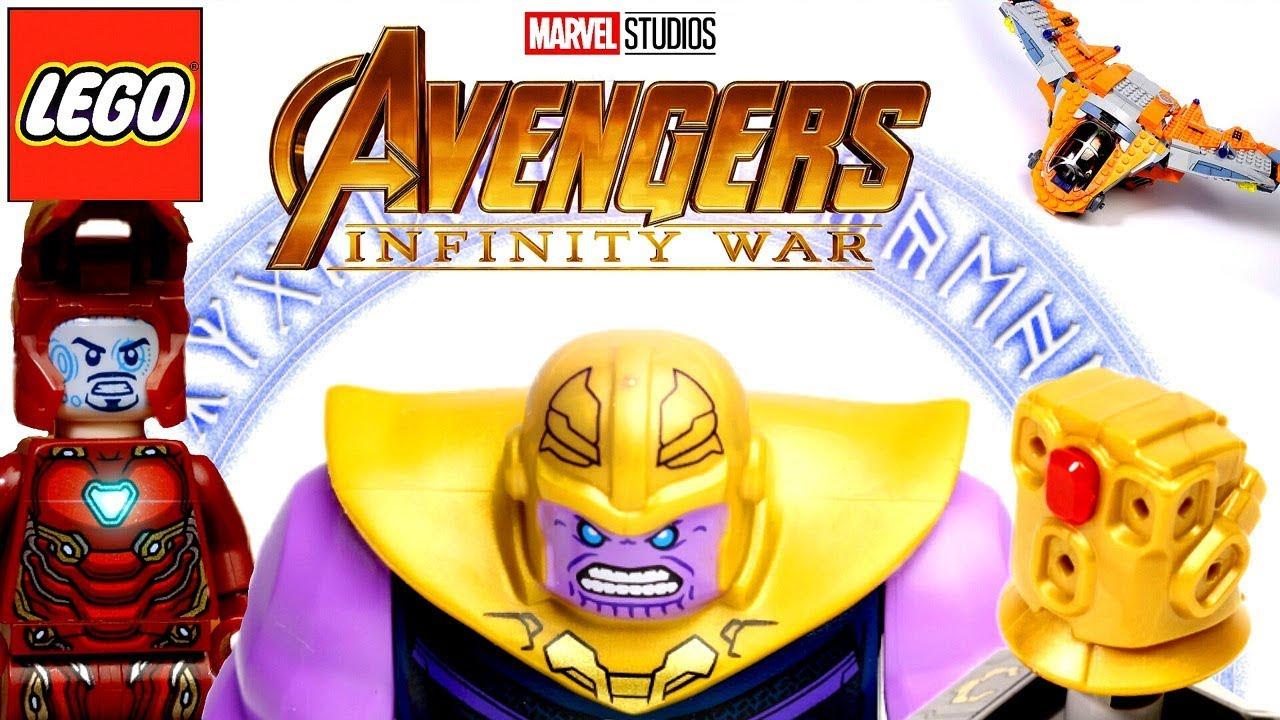 LEGO <b>Avengers Infinity War</b> 76107 Танос: Последняя Битва Обзор ...
