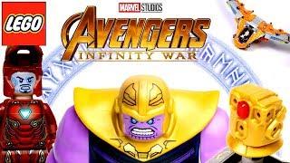 LEGO Avengers Infinity War 76107 Танос: Последняя Битва Обзор