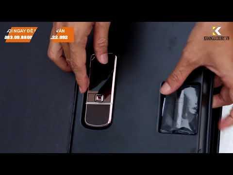Nokia 8800 sapphire arte nâu zin full box -[khangluxury.vn]