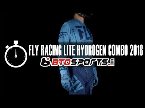 Fly Racing Lite Hydrogen Gear Combo   BTOSports.com Product Review